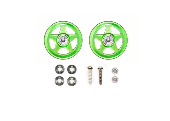 19mm Aluminum five-star pulley,MINI Tamiya 4WD pulley