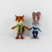 plush toys plush material stuffed toys for children kids putting in desk zootopia