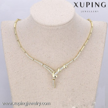 63285-xuping fashion jewelry 14k gold luxury women jewelry indian bridal jewelry sets wholesale