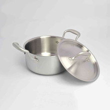 Stainless steel soup pot 20cm