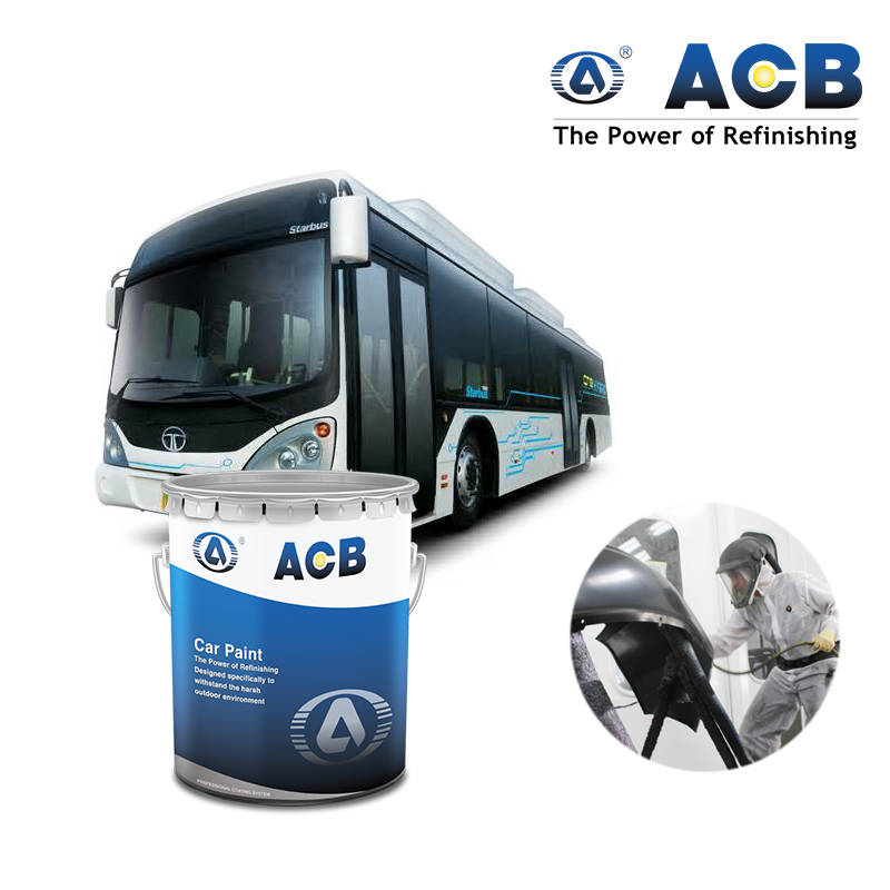 ACB coating OEM available custom car paint colors 2K clearcoat