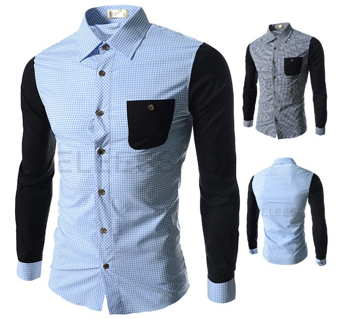 Alibaba Website Top Selling Men Patch Design Blouse From Garment Top Brands