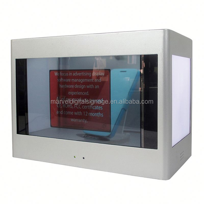 New technology Transparent Screen transparent lcd display touch screen