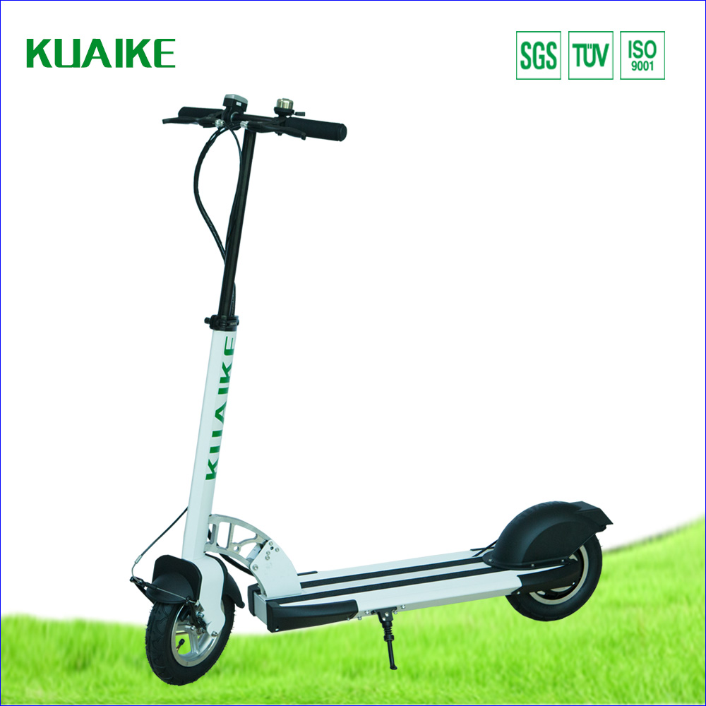 Inflatable Tire Electric Scooter With Sumsung Battery 250w