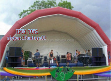 inflatable tent for podium stage / inflatable stage tent / podium stage inflatable marquee