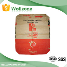 55 kg White and Brown Paper bag for cement or other buliding material
