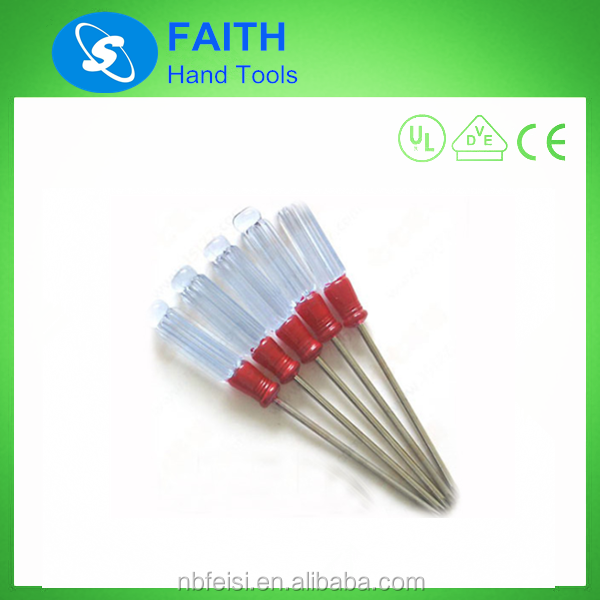 Double Color handle mini SK2 plastic tip screwdriver manufacturers