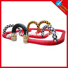 High Quality Textile Polyester with removable banners inflatable start/finish racing arch
