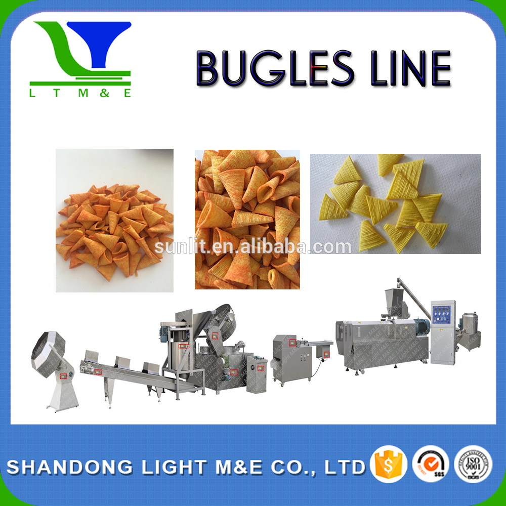 High Quality Automatic Puffed Corn Snack Production Line