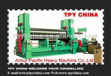 top quality W11SNC upper roll universal 3 rollers steel plate rolling machine manufacturer in China
