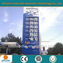 all size led red gas price charge display