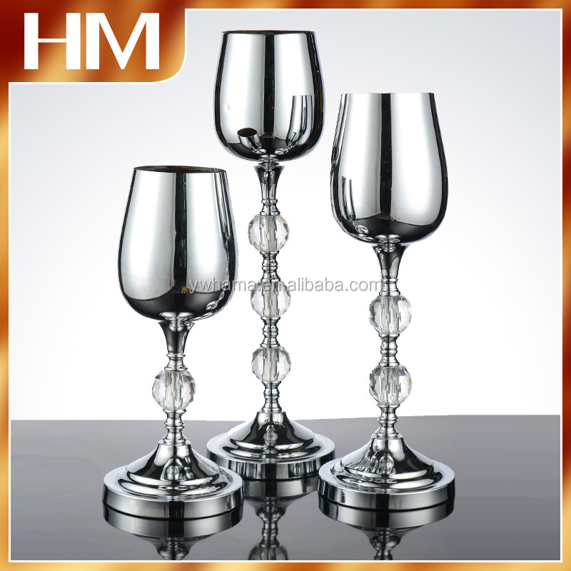 Alibaba supplier crystal centerpiece wedding party decor with high quality
