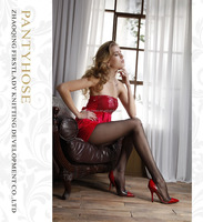 Best selling sex pantyhose with silk stockings