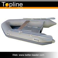 Cheap Inflatable Plastic Boat Fishing For Sale with Transom