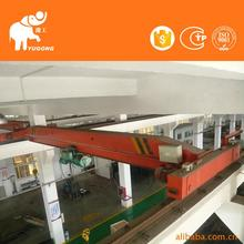 12T Rails Travelling Overhead Crane With Limit Switch