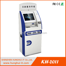 Customizable Touch Screen Member cards Mobile phone top up kiosk machine