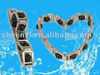 germanium BIO bracelet with energy stone