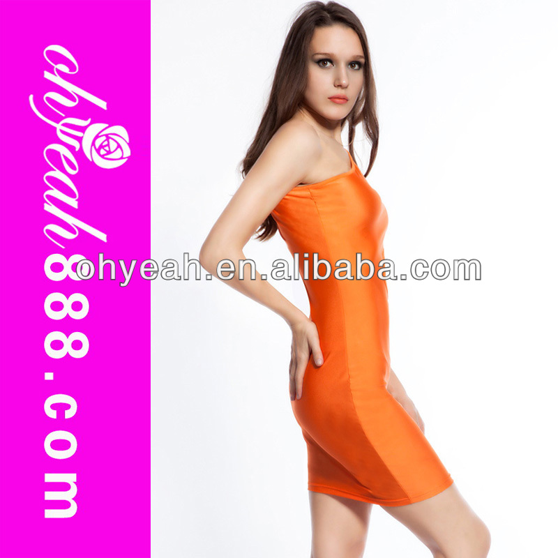 One Sleeve Fashion Figure Showing Sexy club wear bodysuits for women