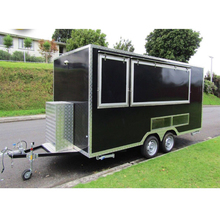 New arrival 4m food cart trailer mini food cart mobile food cart with wheels