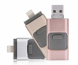 Bulk wholesale 8GB/16GB/32 GB/ 64 GB micro OTG USB 3.0 Flash Drive