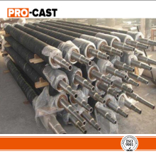 custom material iron casting pipe mill rolls