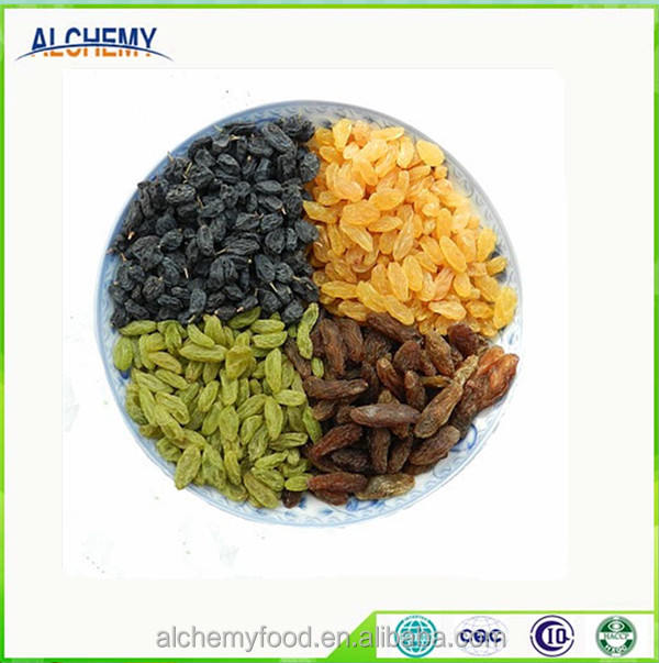 All types of raisins for sale with ISO, kosher,sultana, high quality, exporting
