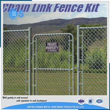 High quality security 9 gauge chain link wire mesh fence