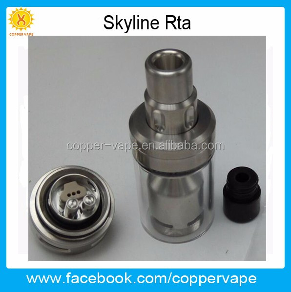 316SS great flavor skyline atomizer different oprions of Skydisks Coppervape skyline rta Popular