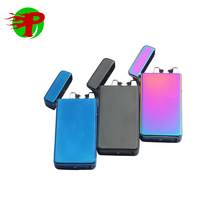 Double arc rechargeable usb lighter from China USB Dual Arc Lighter OEM Factory Manufacturer
