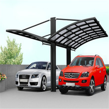 3x11m water proof polycarbonate aluminium 2 car used carports for sale