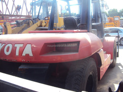 Hot sale!Used Toyota 20ton Forklift, Japan 20ton forklift/20T used toyota forklift,Excellent condition,high efficiency!