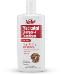 Stops itching dog shampoo 12oz