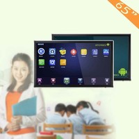 Finger touch 55, 65, 70, 75 and 84 inch USB touchscreen monitor with computer and low price