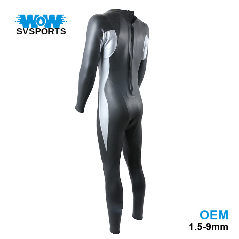 3mm Equipment Split Spearfishing diving triathlon neoprene wetsuit