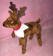 Christmas Elf Pet Reindeer plush toy for kids/elf on the shelf reindeer plush