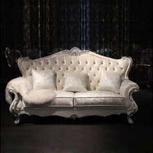 Foshan Hot Sell Solid Wood Vintage Palace Sofa Furniture Nice Classical Pictures of Sofa Set