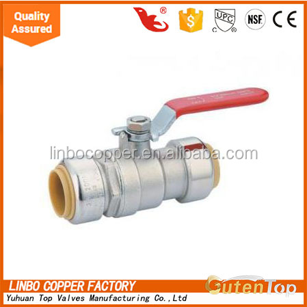 LB-Gutentop 1/2 inch Very convenient Manual Operated Forged lead free Brass Ball Valve Price