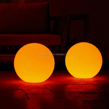 Hot sale plastic ball lights sphere/outdoor led lighting/Waterproof ball light
