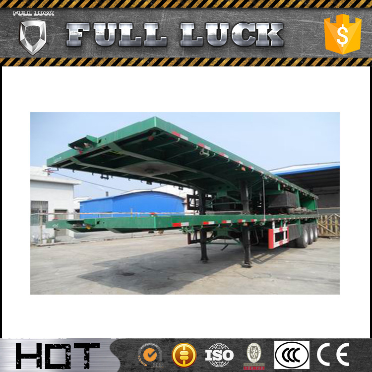 Chinese factory price new semi trailer with door