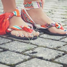 New upper changeable flip flops for fashion summer
