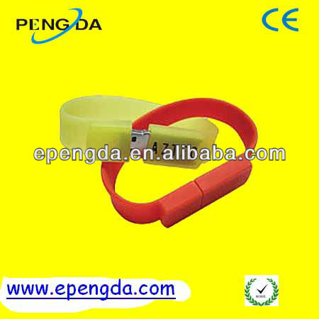 colorful logo silicone bracelet usb flash drive 2gb 4gb,4gb usb bracelet silicone waterproof,silicon wristband cheap bracelet us