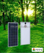 High quality low price 18V130W poly solar panel made by Chinese Ningbo Ring Electronics Co., LTD