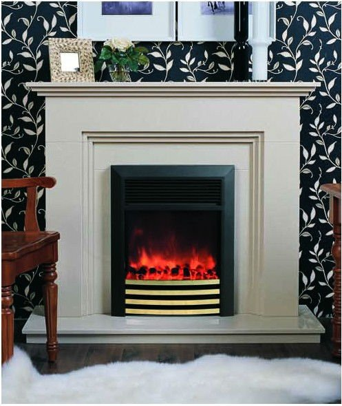 Marble electric fireplaces