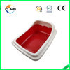 High quality plastic cat litter box dog toilet pet loo
