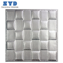 beautiful decorative leather 3d wall panel modern leather 3d wall board