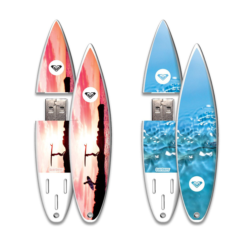 Best selling products surfboard usb flash 512 mb