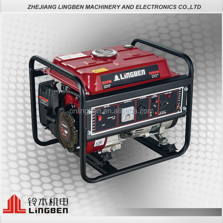 Lingben China Hot sale 750w used generator for sale in pakistan