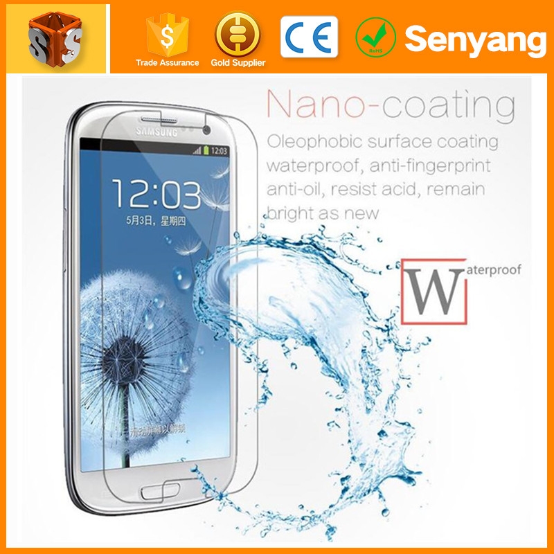 latest mobile covers Full Coverage Curved tempered Glass for samsung s6 ege tempared glass