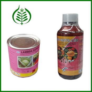 Good Price of Liquid State Pesticide Insecticide Lambda Cyhalothrin 5 EC, 2.5 EC, 1.5 EC in Insecticides (CAS 91465-08-6)