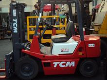 Used TCM forklift 3.5ton/secondhand FD35 3.5TON Japan forklifts for cheap sale!